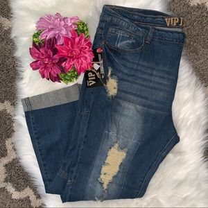 VIP Ripped Jeans NWT